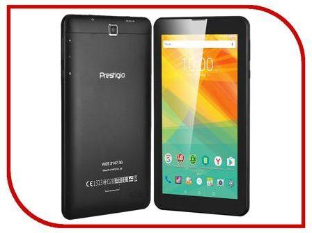Планшет Prestigio MultiPad WIZE 3147 3G PMT31473GCCIS Black (MediaTek MT8321 1.3 GHz/1024Mb/8Gb/3G/GPS/Wi-Fi/Bluetooth/Cam/7.0/1024x600/Android)