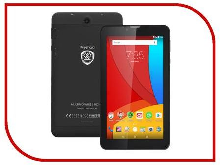 Планшет Prestigio MultiPad PMT3407 4G (MediaTek MT8735M 1.3 GHz/1024Mb/8Gb/Wi-Fi/3G/4G/Bluetooth/Cam/7.0/1024x600/Android)