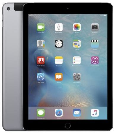 Apple Apple iPad Air 2 128Gb Wi-Fi + Cellular (серый)