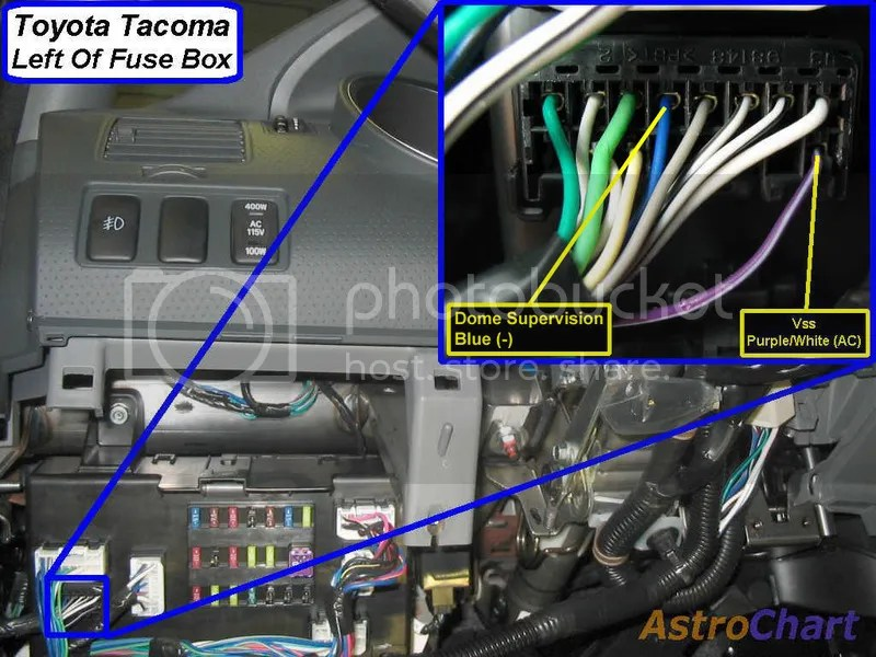 Toyota Dome Light Wiring Diagram