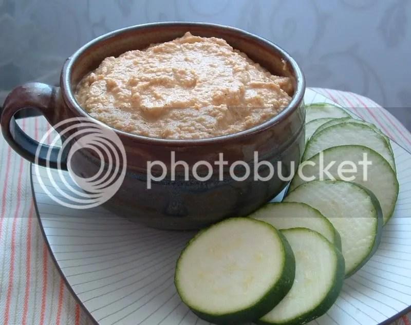Sundried Tomato Zucchini Hummus
