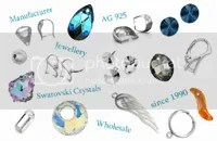 Sterling silver findings 925, MIYUKI beads, Swarovski Elements – all for jewelry making!