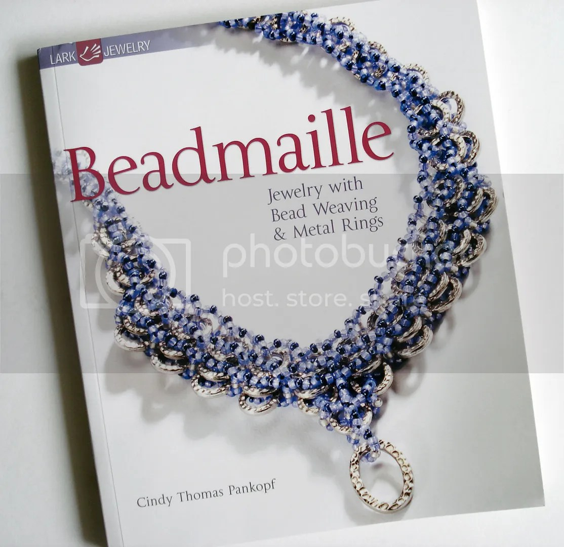 beadweaving chainmaille Cindy Thomas Pankopf Beadmaille beading beadwork bead embroidery jewelry making Lark books