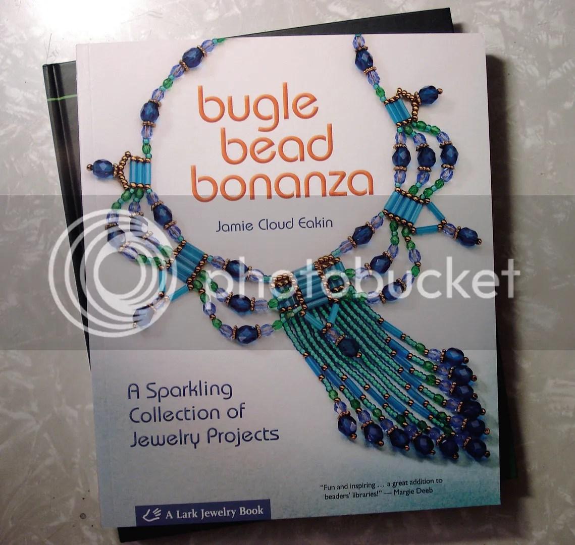 Lark Books Christmas holiday giveaway Bugle Bead Bonanza beading beadwork bead embroidery jewelry making book
