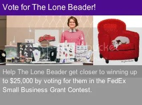 FedEx Small Business Grant Contest 2014 The Lone Beader Boston Artist Etsy