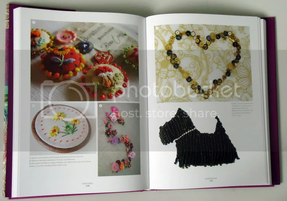 mastering the art of embroidery book sophie long scottie dog brooch beadwork bead