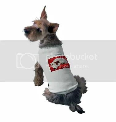 beaded Irish Jack Russell Terrier dog doggie t-shirt beadwork zazzle shop lone beader bead embroidery art prints