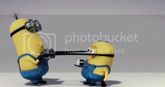 Gru's ever so loyal minions, they're so cute I want one!
