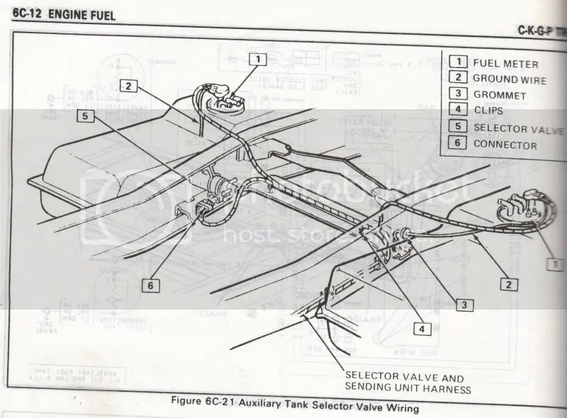 1987 Chevy Silverado Fuel Tank Diagrams, 1987, Free Engine