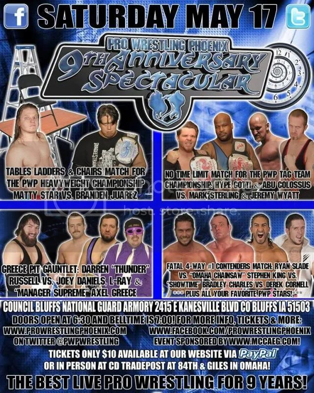 Pro Wrestling Phoenix Insider : Episode III -PWP Returns May 17
