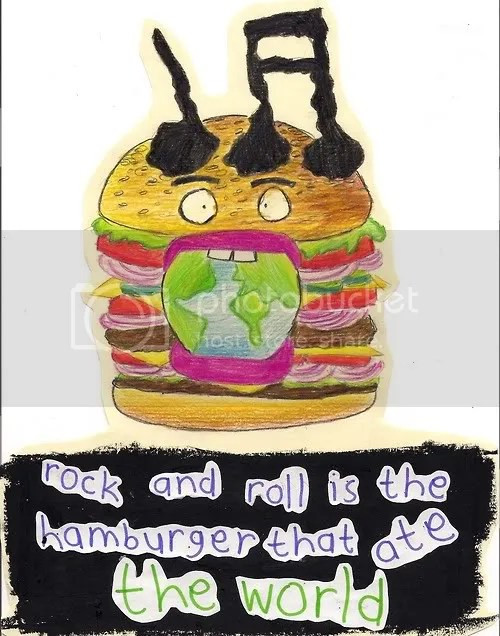 rock and roll hamburger