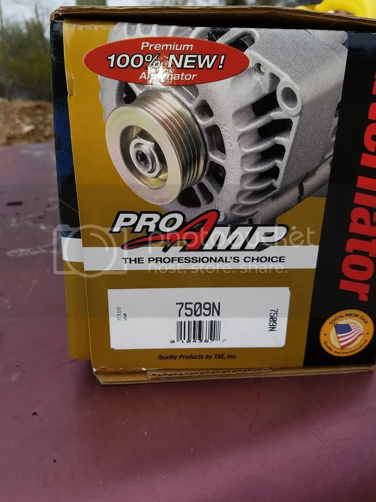 hight resolution of 95 amp ir alternator direct replacement this is available from tucson