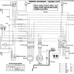 Honda Wave Motorcycle Wiring Diagram Kenworth T800 Starter Scoopy Engine Ruckus ~ Odicis