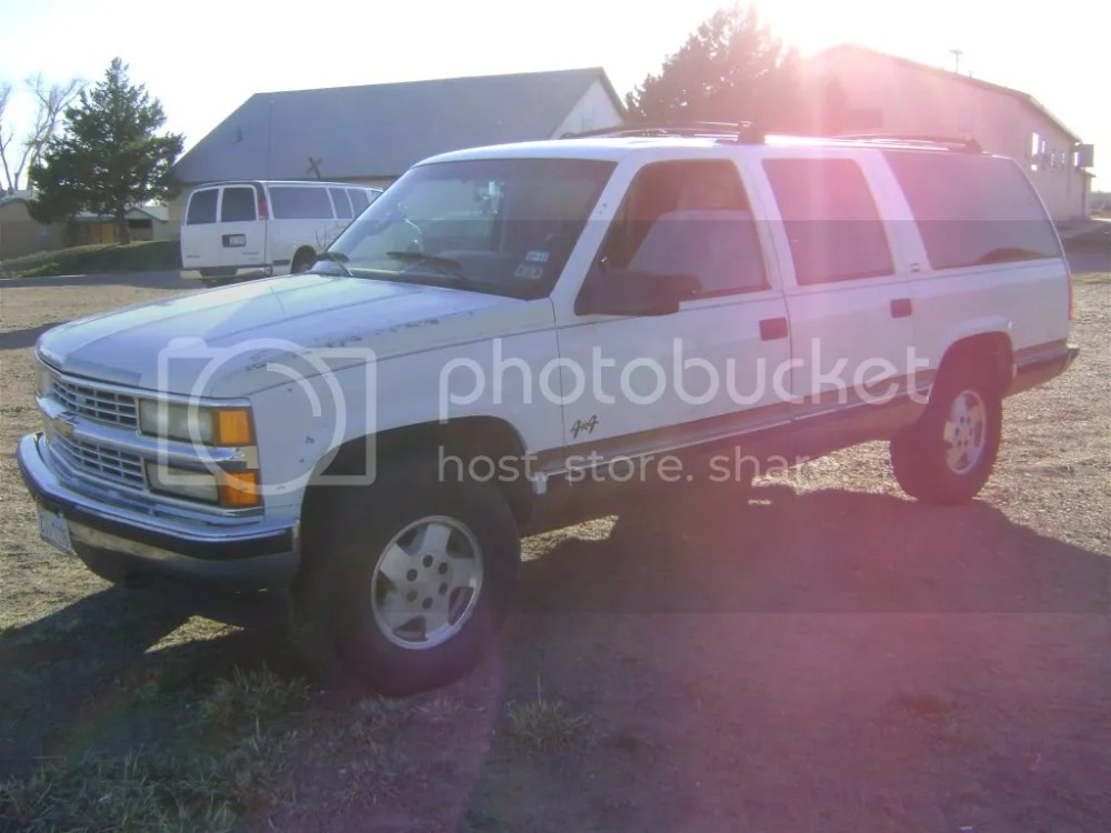 medium resolution of my 1995 chevy suburban 1500