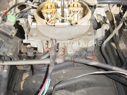 small resolution of  1 i have the map sensor i think connected to the center connection on the rear of the throttle body base this was already connected this way