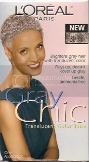 l'oreal gray chic translucent color