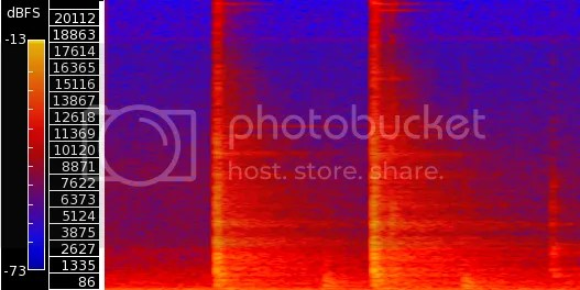 spectrogram,frequency analysis,hammer,hammering
