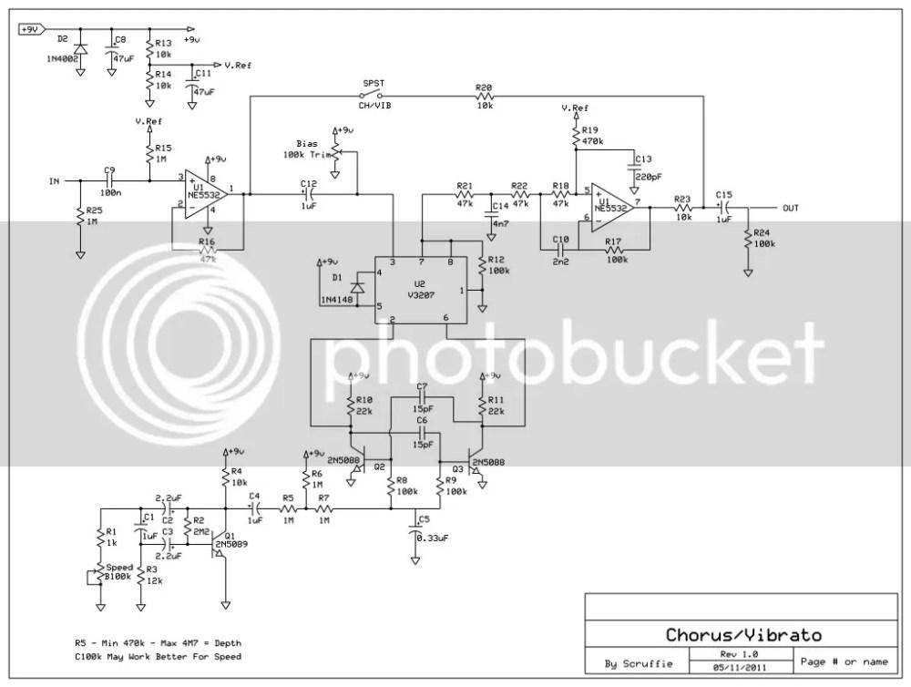 medium resolution of flanger guitar effect diagram