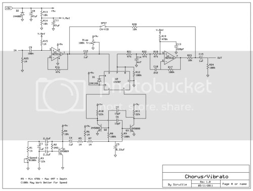small resolution of flanger guitar effect diagram