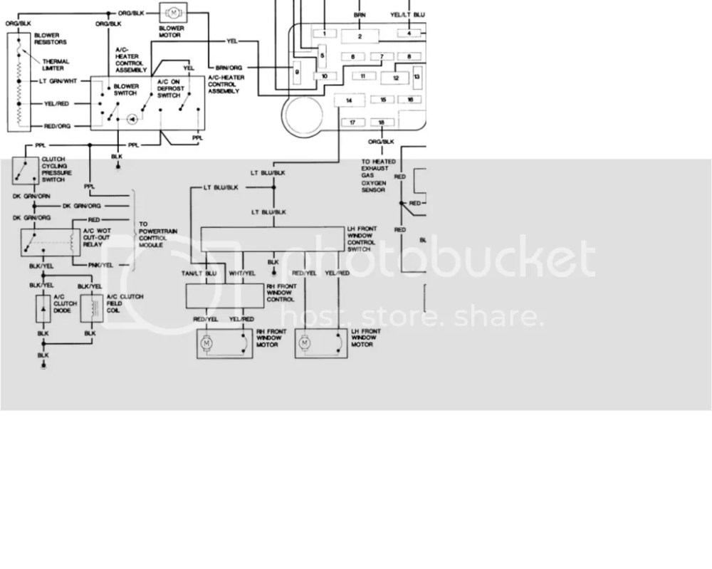 medium resolution of ac wiring harness 1995 b3000 wiring diagram show ac wiring harness 1995 b3000