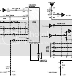 wiring confusion on a 98 navigator stereo ford forums mustang 2008 navigator 1998 navigator wiring diagram [ 1023 x 771 Pixel ]