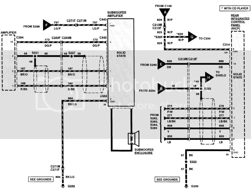 98 ford mustang stereo wiring diagram transit 2006 confusion on a navigator - forums forum, trucks, focus ...
