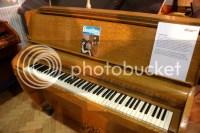 The piano!