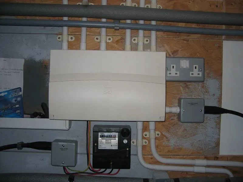 Trailer Wiring Diagram As Well Consumer Unit Wiring Diagram Garage