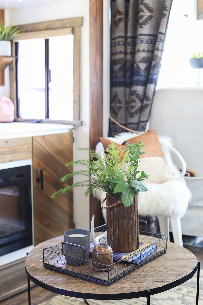 using blankets for rv curtains