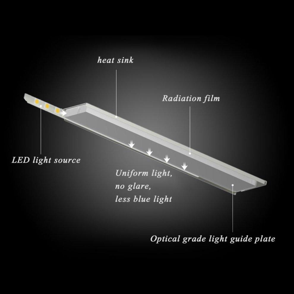 hight resolution of  ttlab led reading lamp dimmable eye care desk led lamp flexible adjustment lights workshop lighting for