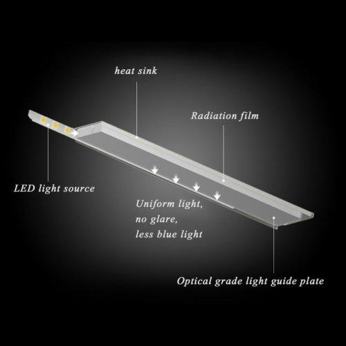 small resolution of  ttlab led reading lamp dimmable eye care desk led lamp flexible adjustment lights workshop lighting for