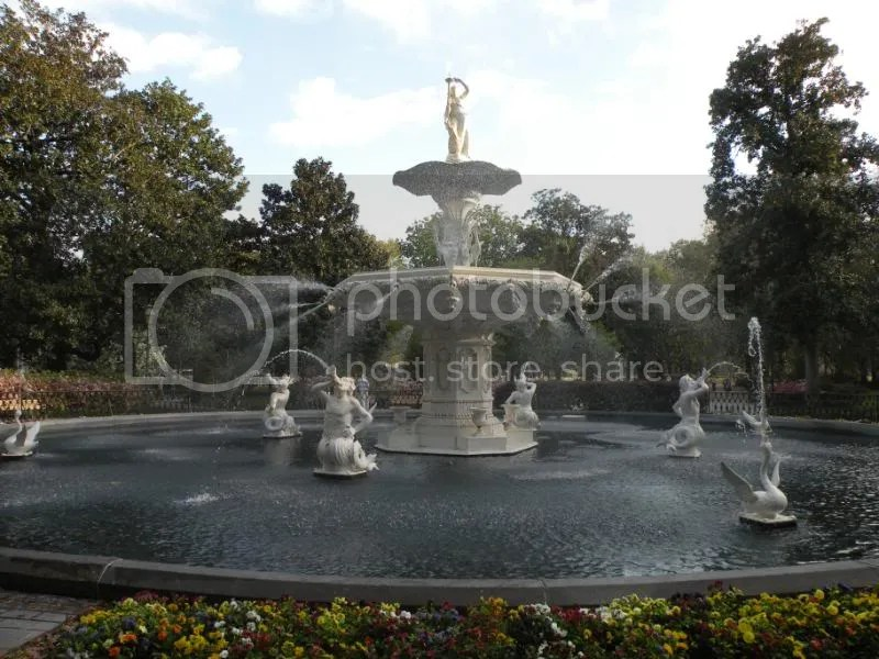 Forsythe Park fountain