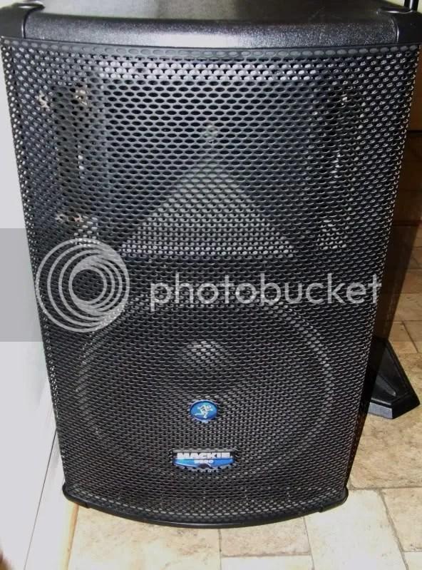 Set of Mackie S500 PA Speakers 600  TalkBasscom