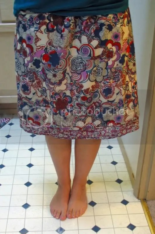 sewing,refashion,skirt