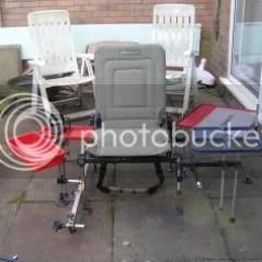 Fishing Chair Setup Print Accent The Maggotdrowners Forum Pimp My Here S Korum Set Up
