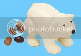 Pooping Polar Bear