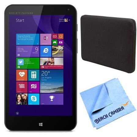 Hewlett Packard Stream 7 32GB Windows 8.1 Tablet Bundle (Free Office 365 Personal for One Year)
