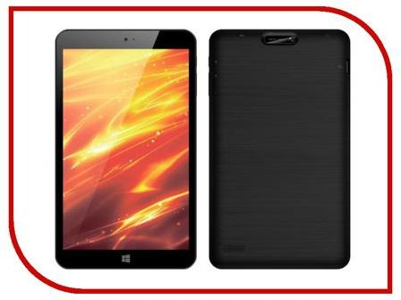 Планшет 4Good T803i 3G Black (Intel Atom Z3735G 1.33 GHz/1024Mb/16Gb/3G/Wi-Fi/Bluetooth/Cam/8.0/1280x800/Windows 10)