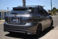 Roof rack toyota matrix 2004