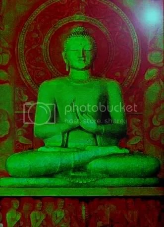 The Buddha goes green Pictures, Images and Photos