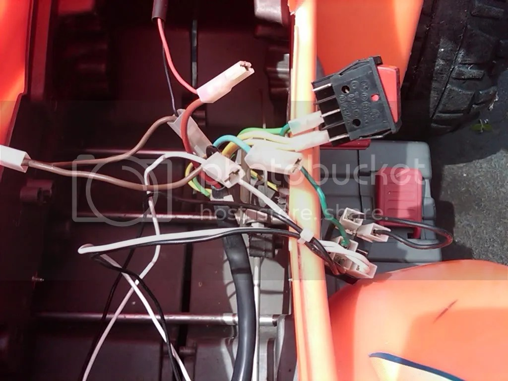 hight resolution of modified power wheels wiring diagram peg perego corral 270 go