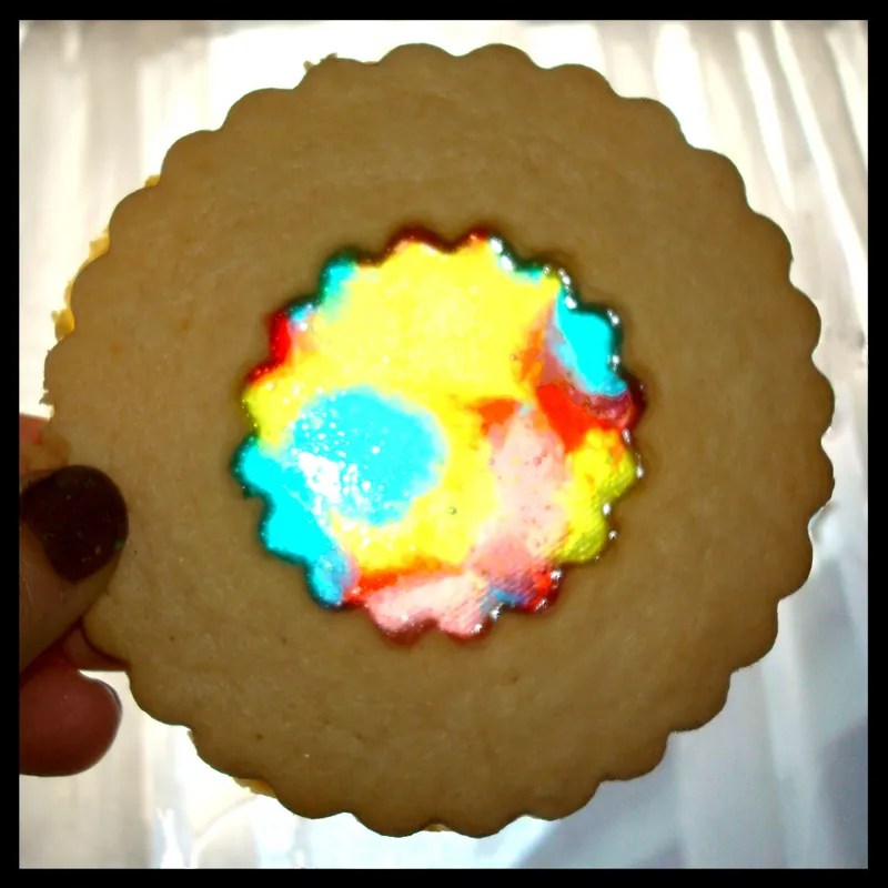 Stained Glass Sugar Cookie