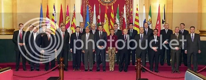 El espectacular peso de la cúpula de la partitocracia española, visible en las