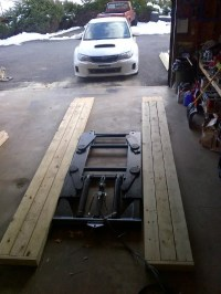 DIY: LOW ramps for service work or clearing a lift ...