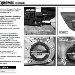 2009 Subaru Forester Stereo Wiring Diagram Red Arc Dual Battery Isolator Guide: Replacing Door Speakers In '08+ Wrx/impreza: Spacers, Adapters, Instructions - Nasioc