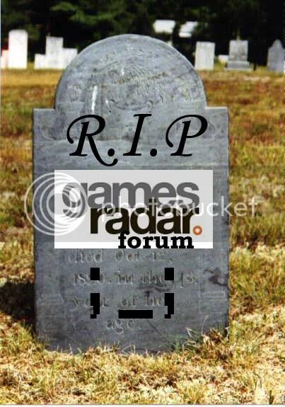 GamesRadar R.I.P
