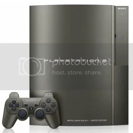 Gunmetal PS3
