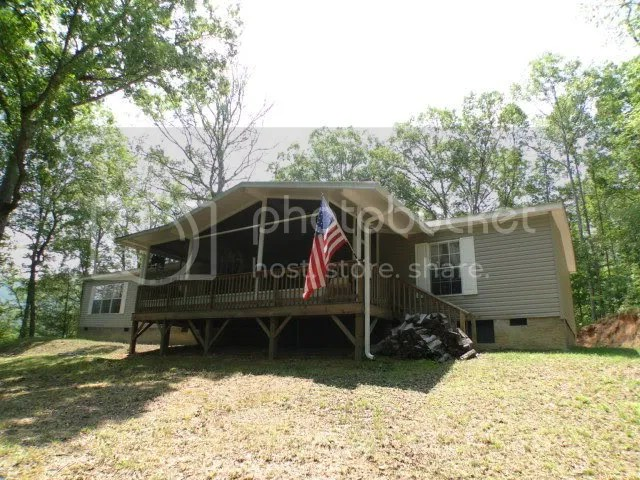 2008 Clayton manufactured home on a permanent foundation, 136 Gibson Ridge Road Franklin NC, Franklin NC Real Estate, Franklin NC Realty
