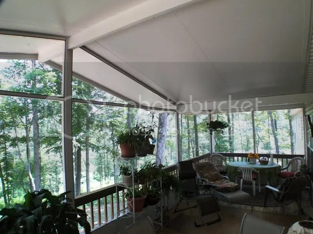 This home has 180 degree mountain views in the winter and a tremendous screened and covered deck, Franklin NC Free MLS Search, Franklin NC Homes for Sale