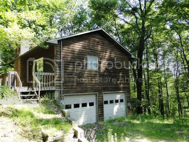 Bonus cabin is 1 bedroom 1 bath with garage fireplace and more, Highlands Real Estate, Log Cabin for Sale